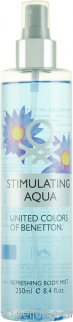 Benetton Stimulating Aqua Body Mist 250ml