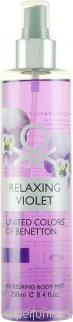 Benetton Relaxing Violet Body Mist 250ml