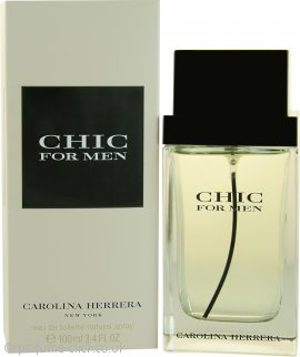 Carolina Herrera Chic For Men Eau De Toilette 100ml Spray