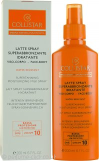Collistar Speciale Abbronzatura Perfetta Supertanning Moisturizing Milk Spray 200ml SPF10