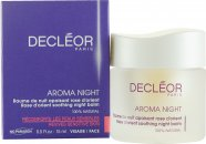 Decleor Aroma Night Rose D'Orient Soothing Night Balm (Sensitive & Reactive Skin) 15ml