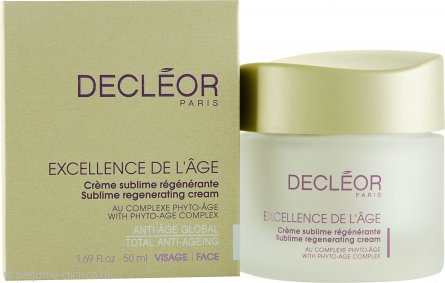 Decleor Excellence de l'Age Sublime Regenerating Cream 50ml