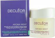 Decleor Aroma Night Ylang Ylang Purifying Night Balm (Kombineret/Uren Hud) 15ml
