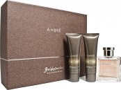 Baldessarini Ambré Gift Set 50ml EDT + 50ml Shower Gel + 50ml Aftershave Balm