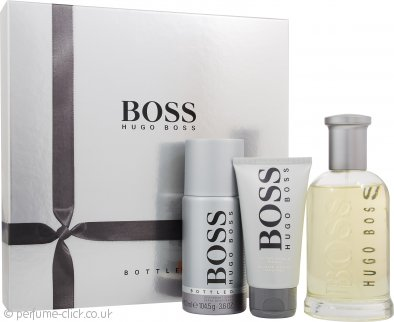 lowest discount great deals 2017 arrives Hugo Boss Bottled Gift Set 200ml EDT + 150ml Deodorant Spray + 75ml  Aftershave Balm