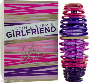 Justin Bieber Girlfriend Eau de Parfum 50ml Spray