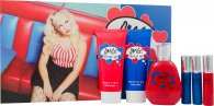Jigsaw OMG! Loved Up Gift Set 100ml EDT + 150ml Body Lotion + 150ml Shower Gel + 3 x 20ml Purse Spray