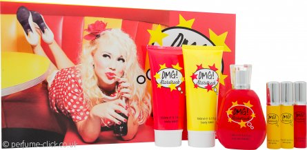 Jigsaw OMG! Starstruck Gift Set 100ml EDT + 150ml Body Lotion + 150ml Body Wash + 3 x 20ml Purse Spray