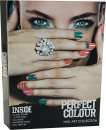 Jigsaw Perfect Colour Nail Art Collection Gift Set 23 Pieces - Manicure Set + Nail Polishes + Nail Gems + Nail Stencils