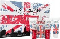 Jigsaw UK Urban City Edition Gift Set 100ml EDT + 100ml Shave Gel + 100ml Aftershave Balm + 100ml Shower Gel + 2 x 20ml Travel Spray