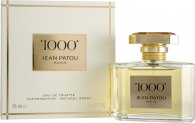 Jean Patou 1000 Eau de Toilette 75ml Spray