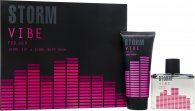 STORM Vibe Gift Set 100ml EDT + 150ml Shower gel