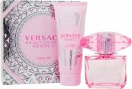 Versace Bright Crystal Absolu Gift Set 90ml EDP + 100ml Body Lotion