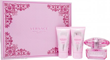 Bright Crystal Absolu Gift Set 50ml EDP + 50ml Body Lotion + 50ml Shower Gel