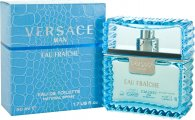 Versace Man Eau Fraiche Eau de Toilette 50ml Spray