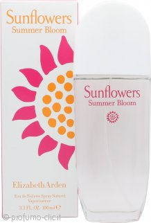 Elizabeth Arden Sunflowers Summer Bloom Eau de Toilette 100ml Spray