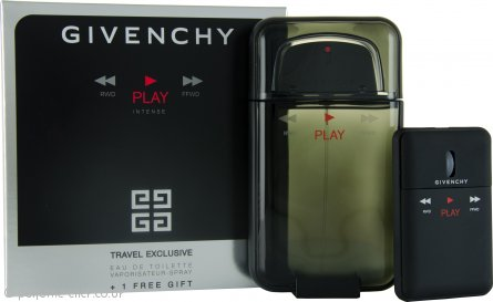 Givenchy Play Intense Gift Set 100ml EDT + Computer Mouse