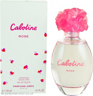 Gres Parfums Cabotine Rose Eau De Toilette 100ml Spray
