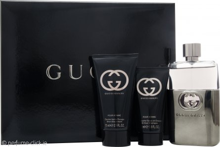 35ec8687b Gucci Guilty Pour Homme Gift Set 90ml EDT Spray + 75ml Aftershave ...