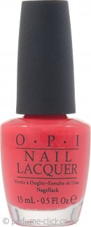 OPI Nail Polish 15ml Red Lights Ahead Where 136