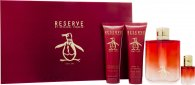 Original Penguin Reserve Gift Set 100ml EDT + 90ml Aftershave Balm + 90ml Shower Gel + 7.5ml EDT Mini