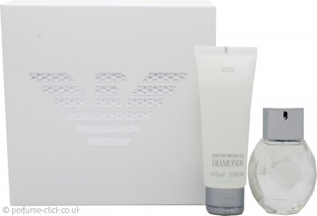 Giorgio Armani Emporio Diamonds Gift Set 30ml EDP + 75ml Shower Gel