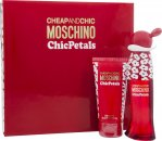 Moschino Cheap & Chic Chic Petals Set de Regalo 30ml EDT + 50ml Loción Corporal