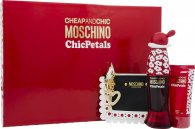 Moschino Cheap & Chic Chic Petals Set de Regalo 30ml EDT + 50ml Loción Corporal + Monedero
