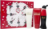 Moschino Cheap & Chic Gavesett 50ml EDT + 100ml Body Lotion + 100ml Shower Gel