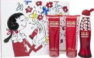 Moschino Cheap & Chic Chic Petals Gift Set 50ml EDT + 100ml Body Lotion + 100ml Shower Gel