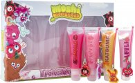 Moshi Monsters Gift Set  4x Lip Gloss With Decorative Charms