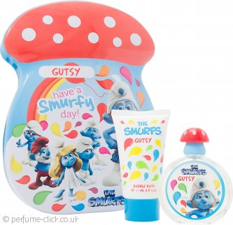 The Smurfs Gutsy Gift Set 50ml EDT + 75ml Bubble Bath