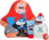 The Smurfs Papa Gift Set 100ml EDT + 75ml Żel pod Prysznic + Bryloczek