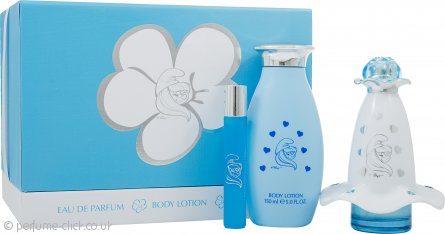 The Smurfs Smurfette Mania Gift Set 50ml EDP + 150ml Body Lotion + 8ml EDP Roll-On
