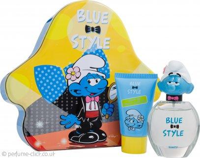 The Smurfs Vanity Gift Set 50ml EDT + 75ml Showergel