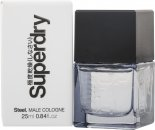Superdry Steel Eau de Cologne 25ml Vaporizador