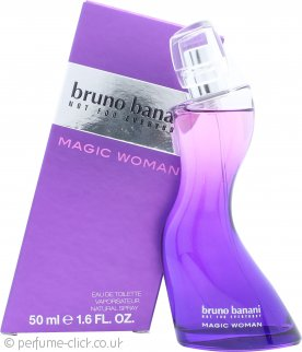 Bruno Banani Magic Woman Eau de Toilette 50ml Spray