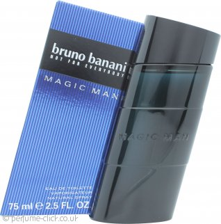 Bruno Banani Magic Man Eau de Toilette 75ml Spray