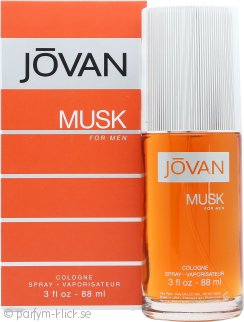Jovan Musk For Men Eau De Cologne 88ml Sprej