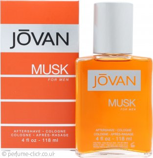 Jovan Musk For Men Aftershave 118ml Splash