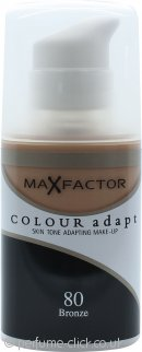 Max Factor Colour Adapt Foundation 34ml - #80 Bronze