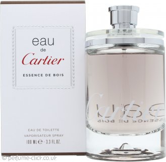 Cartier Eau de Cartier Essence de Bois Eau de Toilette 100ml Spray