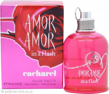 Cacharel Amor Amor In a Flash Eau de Toilette 100ml Spray