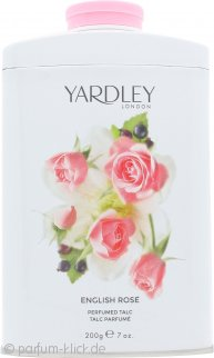 Yardley English Rose Parfumierter Körperpuder 200g