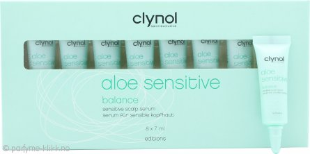 Clynol Aloe Sensitive Balance Scalp Serum 8x7ml