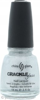 China Glaze Crackle Glaze Nail Lacquer 14ml - Platinum Pieces 1044