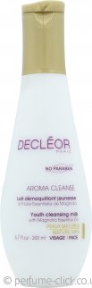 Decleor Aroma Cleanse Youth Cleansing Milk 200ml - Mature Skin