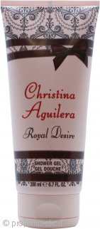 Christina Aguilera Royal Desire Gel Doccia 200ml