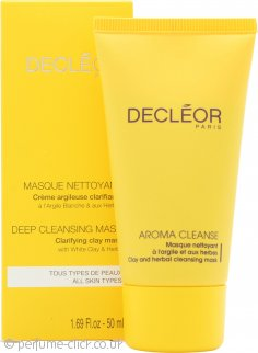 Decleor Aroma Cleanse Clay & Herbal Mask - Masque à l'Argile et aux Herbes 50ml