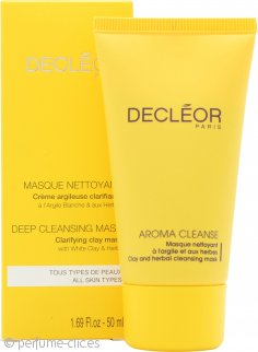 Decleor Aroma Cleanse Clay & Herbal Máscara - Masque à l'Argile et aux Herbes 50ml